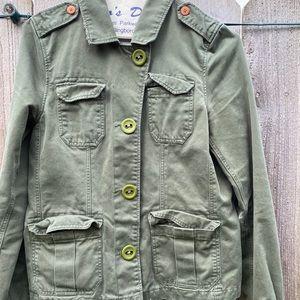 Old Navy Green Bomber Jacket